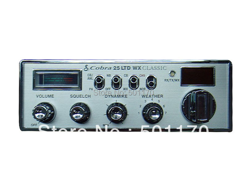 Cobra 25 LTD Classic CB radio long range walkie talkie Cobra radio ...