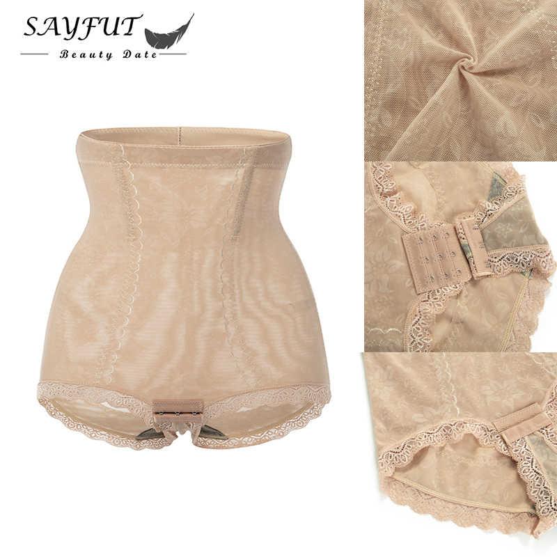 SAYFUT бесшовный Женский формирователь с высокой талией живот для похудения брюки колготки дышащий модный утягтвающий корсет для корректирующей одежды брюки управления