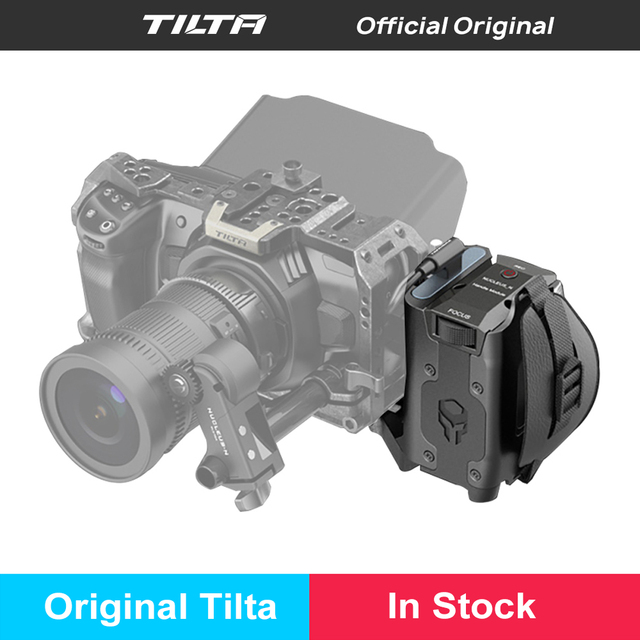 In Stock TILTA New Side power focus handle Type I with R/S for SONY F970 Battery Samsung T5 SSD card holder