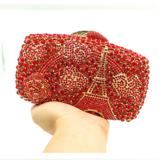 New fashion luxury Female Crystal Clutches Bag Women Evening Bag Ladies Colorful Flower Diamond Party Wedding cocktail Purses lego dimensions 71239 лойд