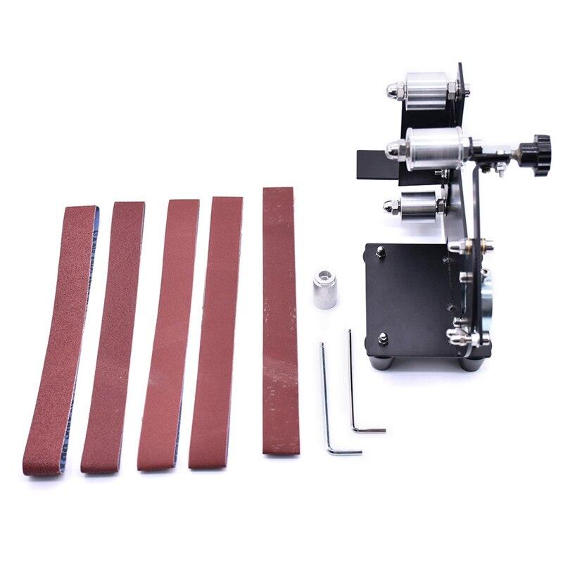 Electric Angle Grinder Belt Sander Metal Wood Sanding Belt M14 Adapter For Grinder Metal Polishing Woodworking Tools
