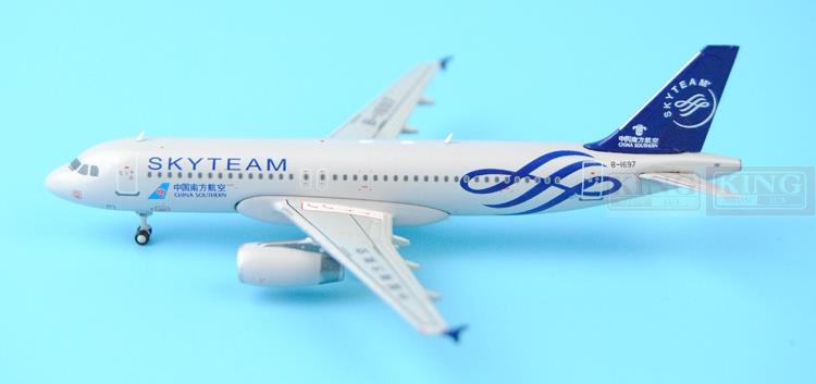 JC Wings XX4230 China seckill: Southern Airlines A320 B-1697 SkyTeam 1:400 commercial jetliners plane model hobby special offer wings xx4232 jc korean air hl7630 1 400 b747 8i commercial jetliners plane model hobby
