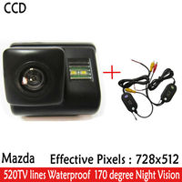 2 4G Wireless Car Rear View Reverse Backup CCD Camera With Parking Lines Night Vision For