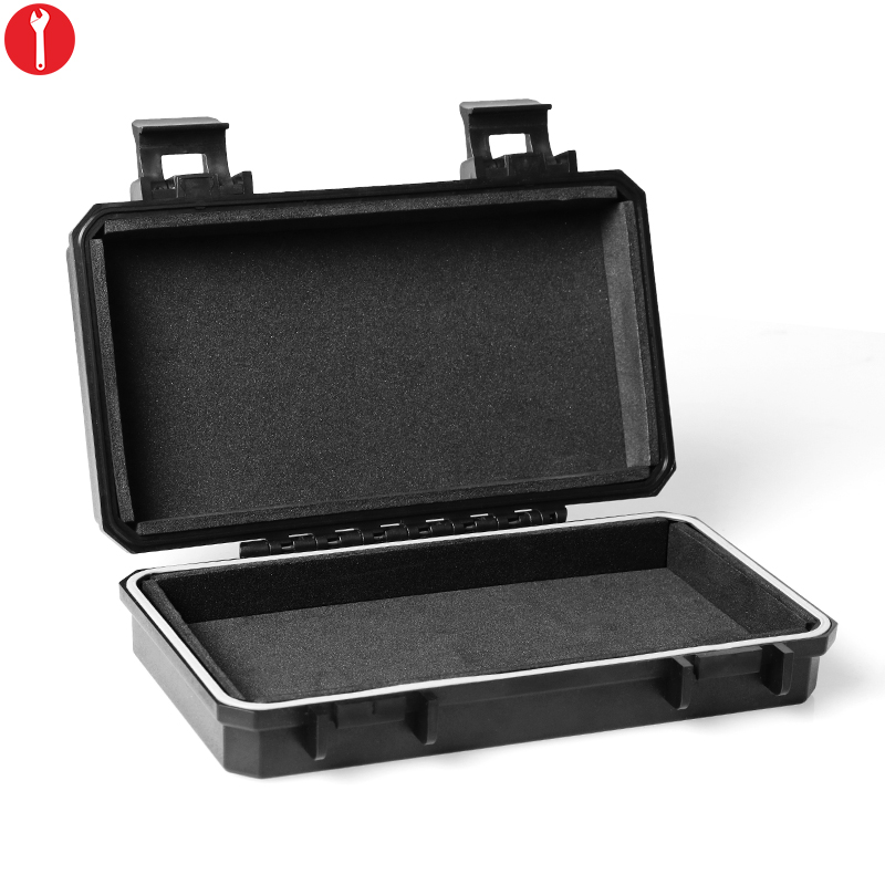 Outdoor Tactical Anti Pressure Box Waterproof Airtight Survival Case Container Dry Storage Carry Box Inner Size: 17*8.5*3 CM|box waterproof|box box|box storage box - title=