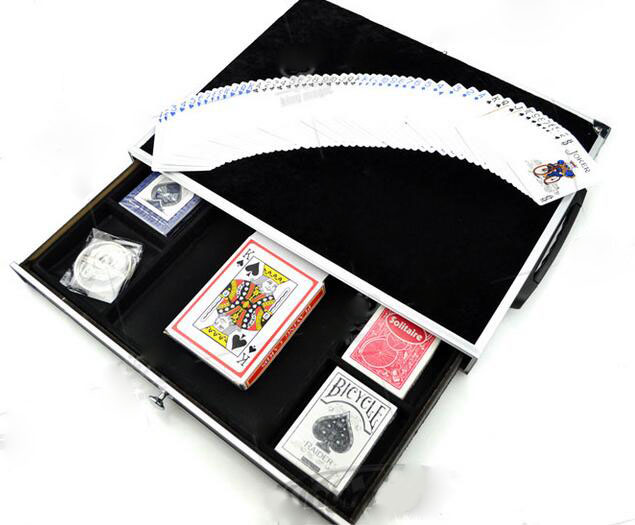 Table- Close Up Case with Magnet and Drawer - Magic Trick,Fun Magic,Magic Accessories,Close-up,Stage marumi mc close up 1 55mm
