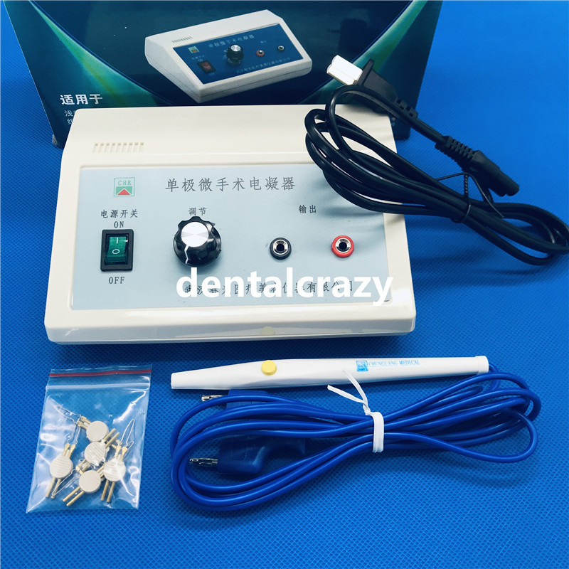 New Protecting Small Appl Electric Cautery Pen Condenser Electric Cautery Monopolar Coagulation Device Built-in Rechargeable