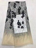 Latest Fashion 2016 New Design 100 High Quality Velvet Lace Fabric For Nigerian Dress LK 1630r