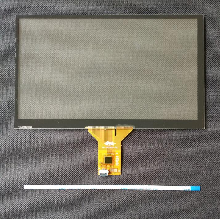 FOR HC 07GT911b 7 Inch Capacitive Touch Screen 6 Pin For Car DVD Navigation 165mm*100mm 164*99mm 155*88 Cable Touch Screen