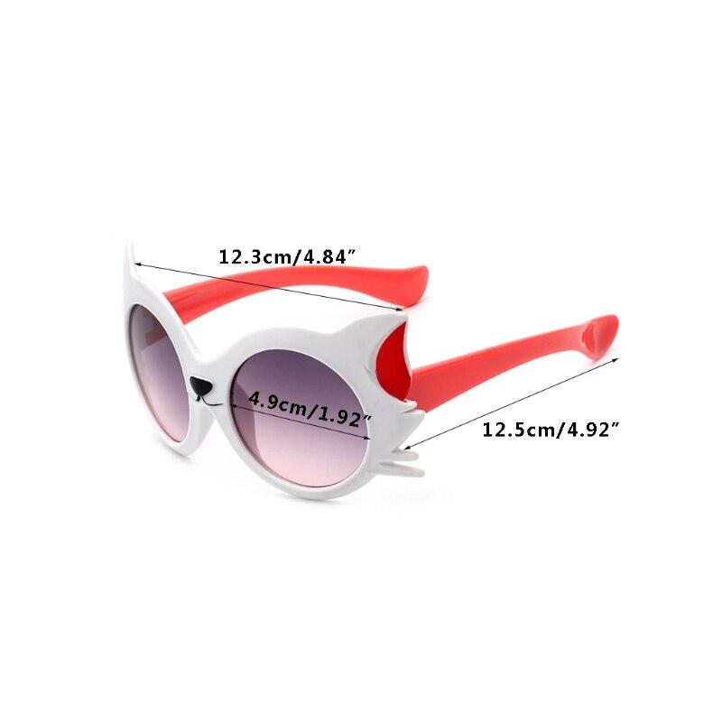 2018 новый мальчик девочек 7 цвета мультфильм Cat анти-солнечные очки UV400 очки для малышей солнцезащитные очки детские Детские платья украшения для девочек-М18