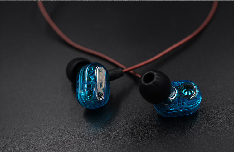 KZ ZSE Dual Dynamic Drivers Earphone In Ear Headset Audio Monitors Headphone Noise Isolating HiFi Music Sports Earbuds