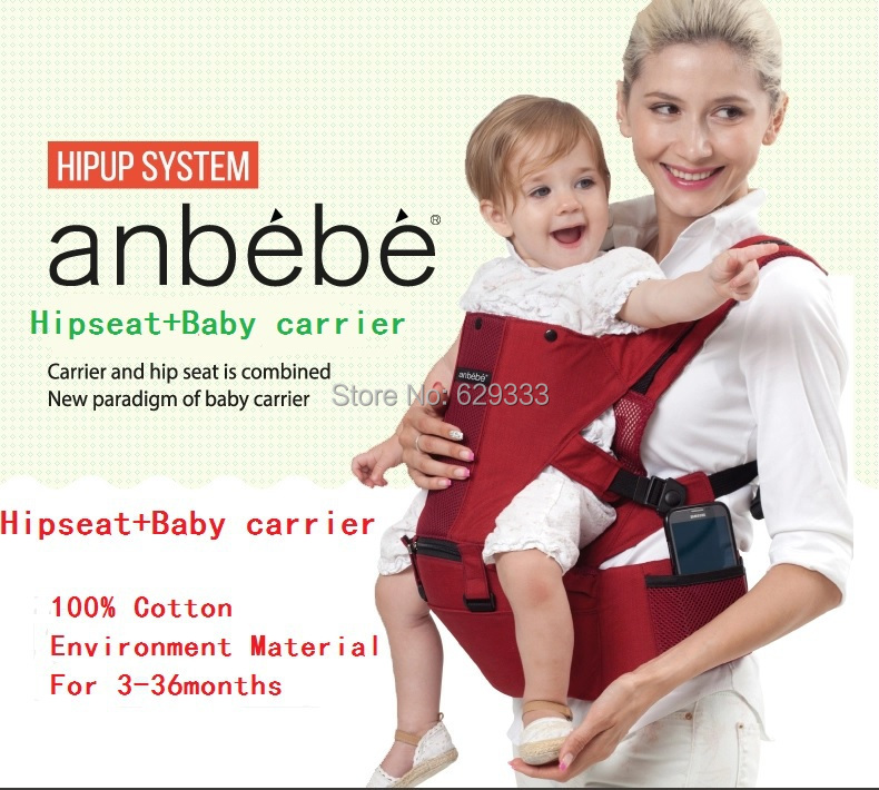 100% Cotton 2 in1 Baby Carrier Adjustable Canguru Baby Stroller Bebe Conforto Infant Carrier Backpack