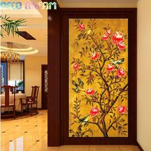 Diy Diamond Painting Flowers For Fresh In Spring Full Diamond Embroidery Chinese Style Oil Picture Decorate Living Room A Gift new chinese spring flowers in full bloom painting chandelier coffee carved wood art e27 lamp for corridor