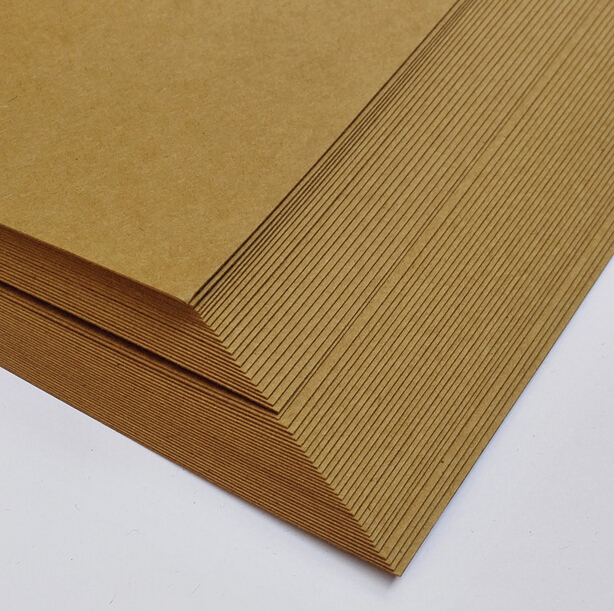 210*297mm A4 Blank Matte Brown Kraft Cardstock Paper Cardboard 230gsm For Papers Craft Cardmaking 5 to 30 Sheets