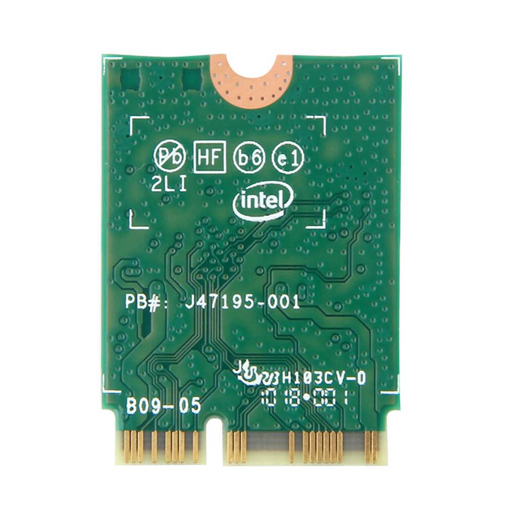 Banda dupla para intel 9560 9560ngw 802.11ac m.2: cnvio wifi bluetooth 5.0 cartão + 6dbi ipex mhf4 u. fl to RP-SMA conjunto de antena externa