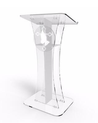 Wholesale Free Shipping Acrylic Desktop Lectern / Acrylic Classroom Lectern Podium / Acrylic Podium Table