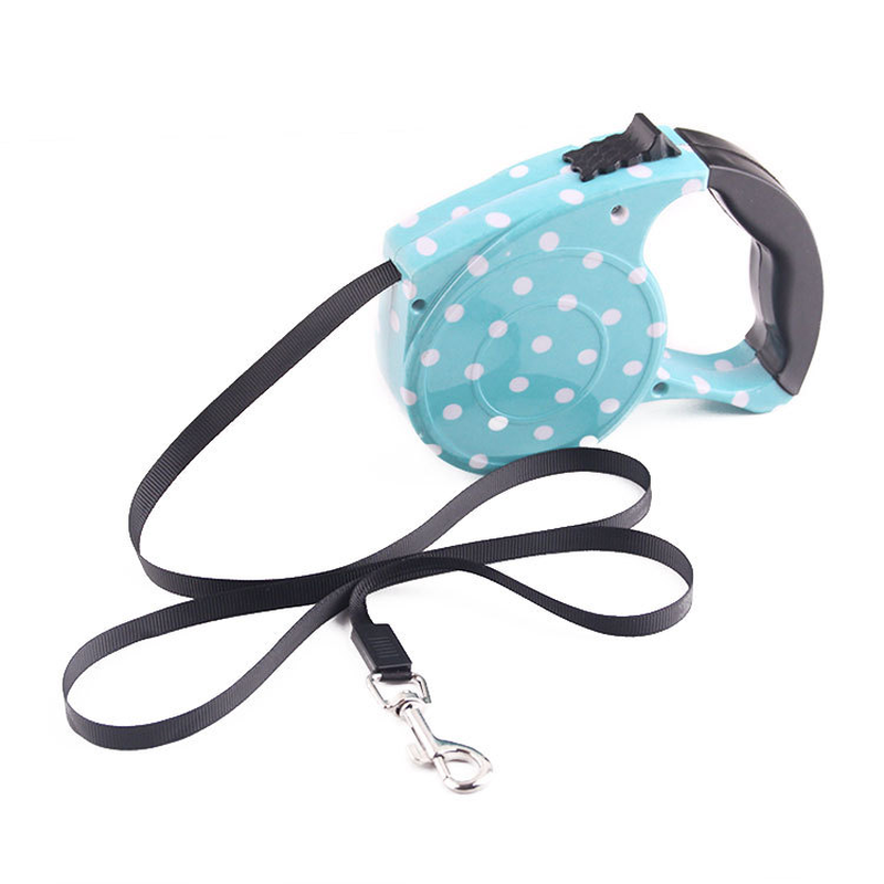 New Dog Harness ABS Automatic Retractable Belt Line Puppy Collar Leash Patrol Rope Walk Cat Traction Supplies Pet Products in Leashes from Home Garden