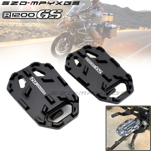 Teng Worship Motorcycle Billet MX Wide Foot Pegs Pedals Rest Footpegs for BMW R1200GS R1200 GS R 1200 2013-2018
