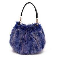 Faux fur plush women coin purse children wallet bag female phone pouch ladies bolso mujer bolsa carteira feminina for girls