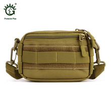 купить Tactical Military Utility MOLLE Pouch Outdoor Sport Messenger Bag Military Waist Belt Bag Pack for Hiking Trekking по цене 639.52 рублей
