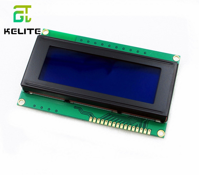 HAILANGNIAO 1pcs/lot LCD Board 2004 20*4 LCD 20X4 5V Blue Screen Blacklight LCD2004 Display LCD Module LCD 2004