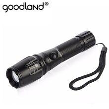 Goodland 3000 Lumens CREE T6 LED Flashlight 18650 Torch Lamp