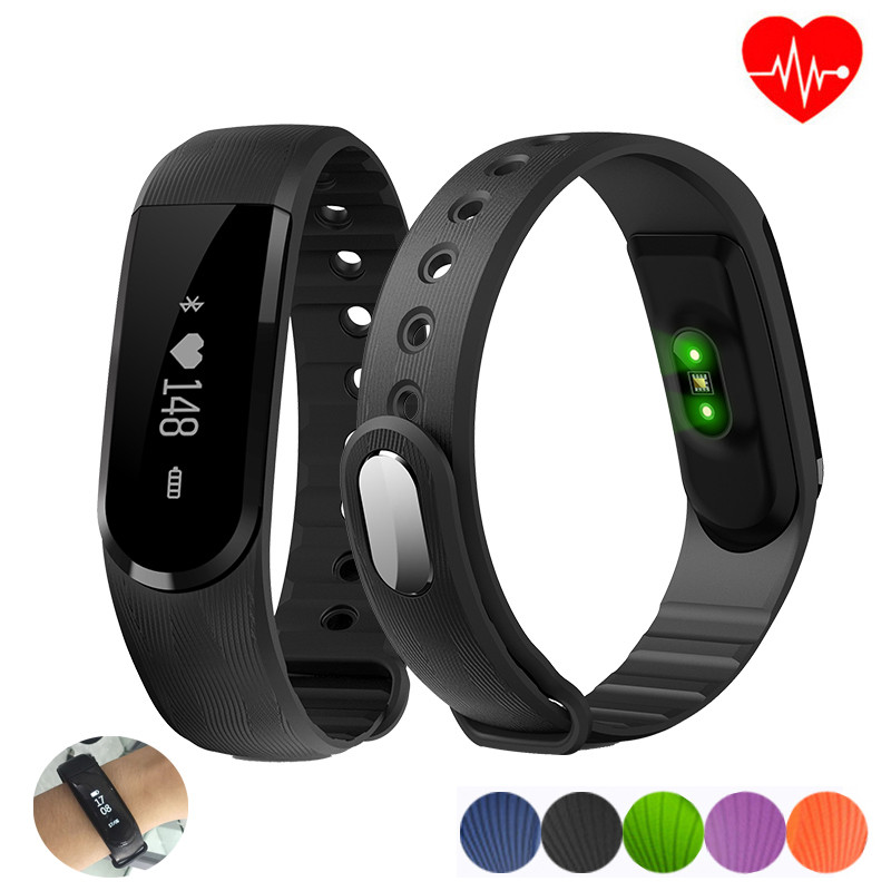 Hongsund ID101HR Smartband Heart Rate Monitor Smart Wristband Activity Tracker P