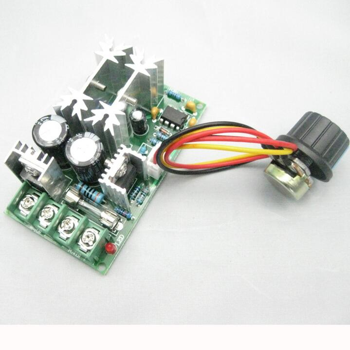 Electrical Instruments Measurement & Analysis Instruments 20a Universal Dc10-60v Pwm Hho Rc Motor Speed Regulator Controller Switch Yet Not Vulgar