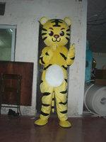 cosplay costumes big head yellow tiger mascot costumes