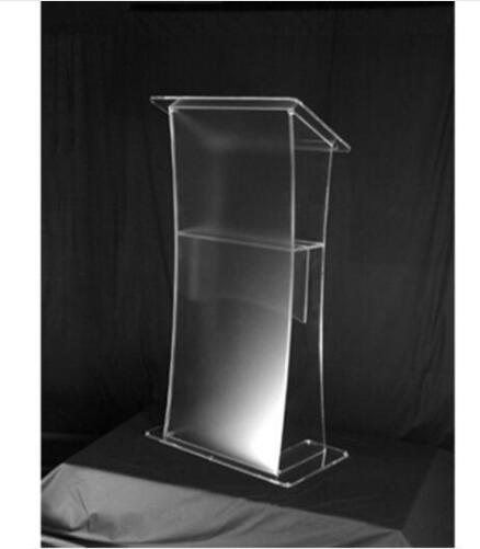 Acrylic Pulpit Plexiglass Speaker Stand Acrylic Table Acrylic Lectern Acrylic Podium Lectern Acrylic Pulpit Plexiglass Modern