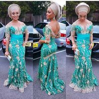 Teal Color Nigerian French Lace Fabrics 2017 African Tulle Lace Fabric High Quality African Lace Wedding