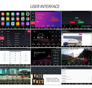 Image 2 - Мультимедийный плеер ATOTO A6, стерео проигрыватель под управлением Android, с GPS, Bluetooth, Wi Fi, USB, типоразмер 2 Din