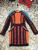 wholesale New style dress High end luxury Fashion celebrities Cocktail party dress (H1393)