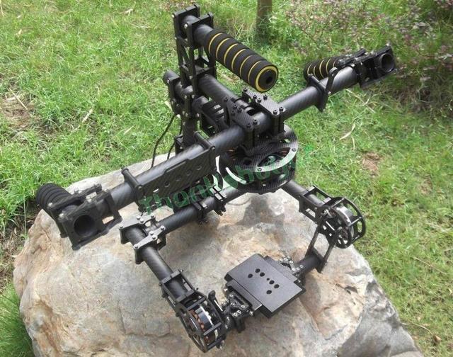 Hifly Рук 3 Оси Красный EPIC АЛЫЕ Бесщеточный Камеры Gimbal Стабилизация Стабилизация 8108-90 Т (36N-42P) Двигателя