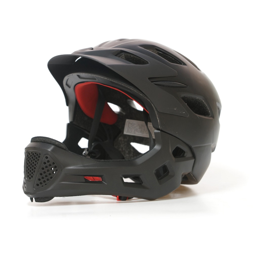 Full face mountain road bike helmet kids Ultralight casco MTB bicycle helmet 2019 children cycling helmet
