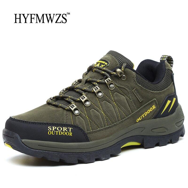 HYFMWZS 2018 Novos Homens Tênis Para Caminhada Botas Krasovki Tático Sapatos Ao Ar Livre Respirável Sapatos Masculinos Não-escorregar Tênis Para Caminhada Sapatos Homens da Montanha sapatos