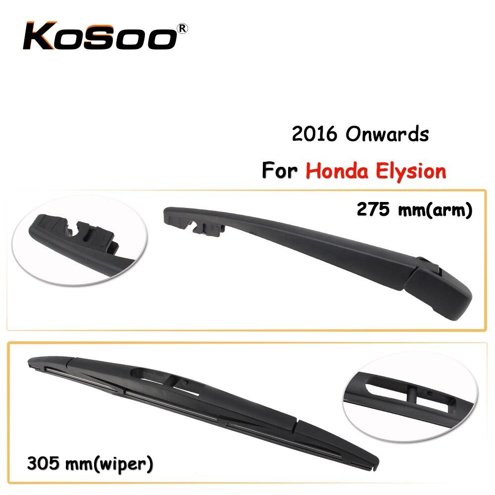KOSOO автомобильные стеклоочистители заднего стекла для Honda Elysion, 305 мм 2016 года, автомобильные аксессуары для стайлинга