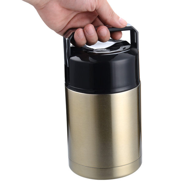 Thermos For Food With Containers Large Capacit 800ml 1000ml Vacuum Flasks Thermoses Portable Thermo Lunch 24 Hours Thermocup