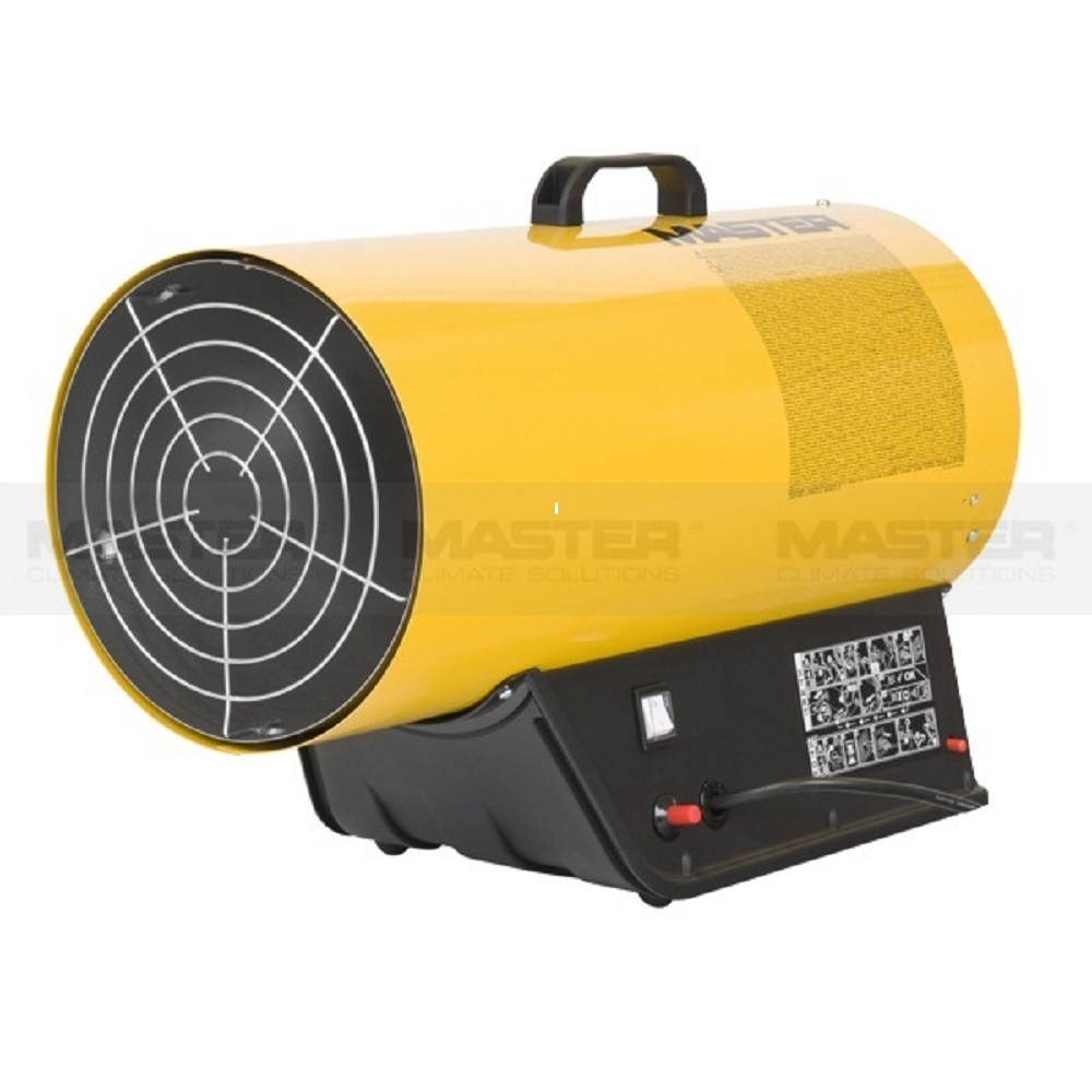 33kw Master lpg gas space heater, Italian technology hot air heater for green house,factory,restaurant,animal husbandry etc.