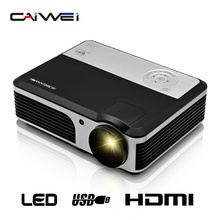 CAIWEI A5 видео ТВ светодиодный проектор Цифровой HDMI USB Главная Театр Портативный проектор для видео мобильного телефона labtop развлечения