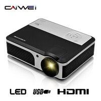 CAIWEI A5 Vidéo TV LED Projecteur Numérique HDMI USB Home Cinéma Portable Projecteur pour Vidéo Mobile téléphone labtop divertissement
