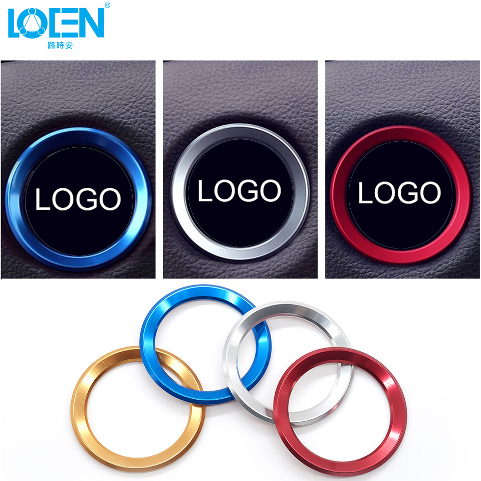 Car Styling Steering Wheel Decorative Circle Cover Universal For BMW X1 X3 X5 X6 E36 E39 E46 E30 E60 E90 E92 F30 F35 Accessories image