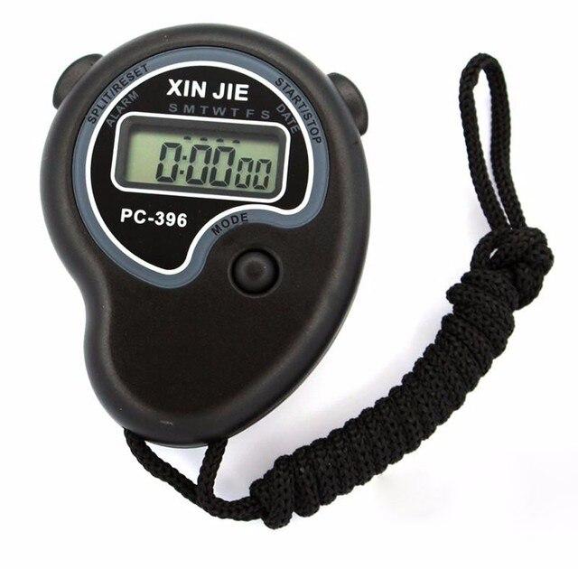 Esportes Cronômetro Cronômetro LCD Digital Professional Chronograph Temporizador Contador #18