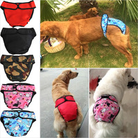 Dog Shorts Panties Pet Large Dog Diaper Sanitary Physiological Pants Washable Female Menstruation Underwear Briefs L