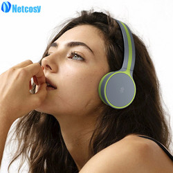 Netcosy Bluetooth 4.1 Headphones , Wireless Over-ear Stereo Foldable Headset with Volume Control head-phone for PC / Cell phone