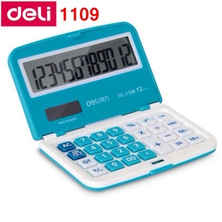 redstar deli 1109 portable mini electronic calculator 12 digit dual power calculator include coin battery.jpg 250x250