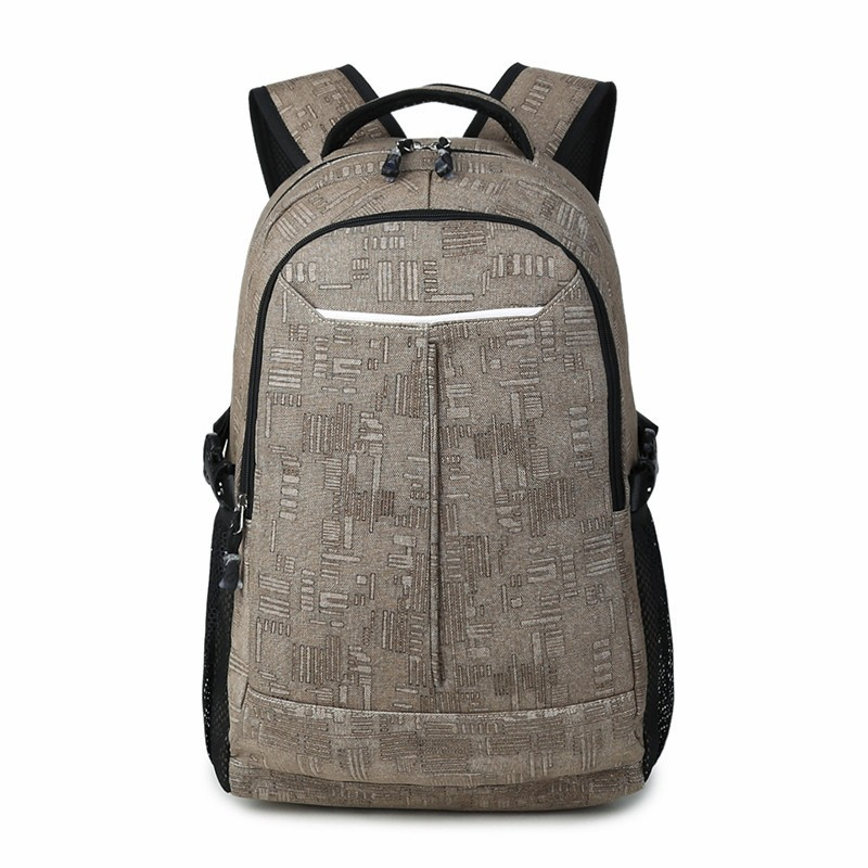 Brand Cool Urban Canvas Backpack Men Unisex Light Slim Minimalist Fashion Backpack Women Laptop Backpack School Bag Casual Bags aosbos fashion portable insulated canvas lunch bag thermal food picnic lunch bags for women kids men cooler lunch box bag tote