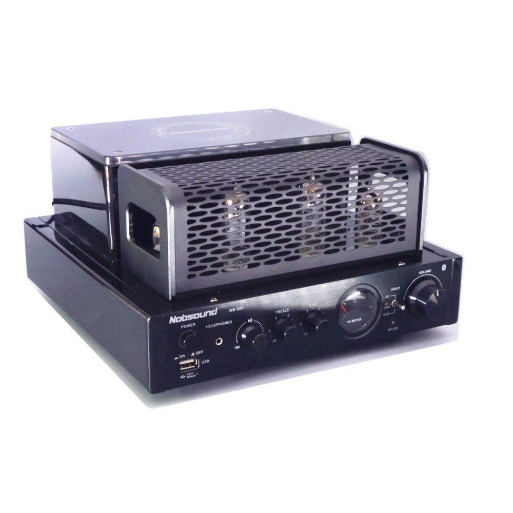 2017 new MS-30D usb Bluetooth Hifi Vaccum Tube Amplifier player Home Audio Amplifier 25W+25W 220v/50HZ xege dc2 hifi stereo wireless bluetooth usb tube amplifier headphone amplifier 25w 25w