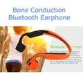 Condução Óssea Fone De Ouvido Bluetooth 4.0 Esportes Fone de ouvido Sem Fio Fone De Ouvido Da Orelha Gancho fone de ouvido Estéreo com Microfone