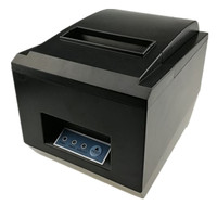 Brand New 80mm Receipt POS Printer Automatic Cutter Thermal Bill Printer USB Ethernet Two Ports Are