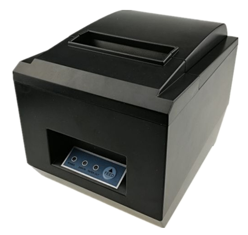 brand new 80mm receipt POS printer Automatic cutter Thermal  bill  printer USB Ethernet Two ports are integrated in one printer wholesale brand new 80mm receipt pos printer high quality thermal bill printer automatic cutter usb network port print fast